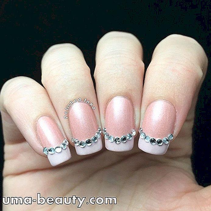20 ideas de u as francesas lindas y diferentes para usted - Different nail designs to do at home ...