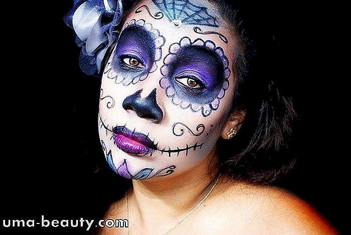 Trucco Annabelle Halloween.20 Trucco Creativo E Diverso Per Halloween Uma Beauty Com