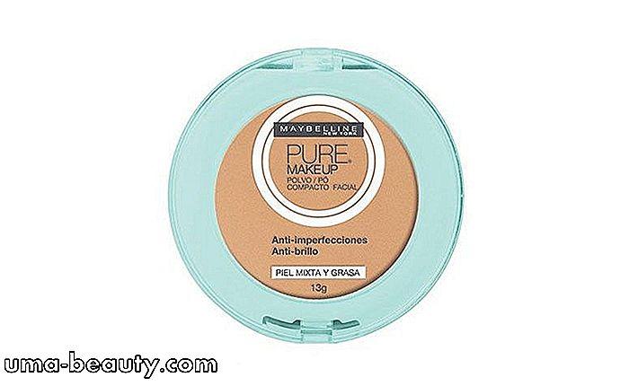 6b596a9ca Este producto promete ayudar a quitar el aspecto de la grasa de la piel,  causando un efecto matificante. La cubierta es ligera y el polvo está  disponible en ...