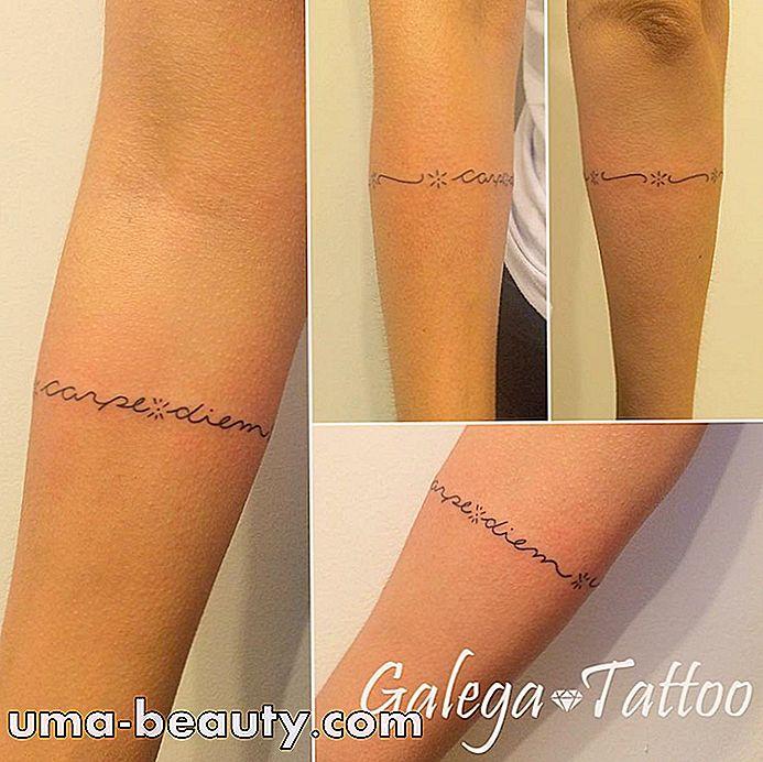 Tatuaje De Pulsera Es Una Gran Eleccion Para Los Disenos Con Trazos