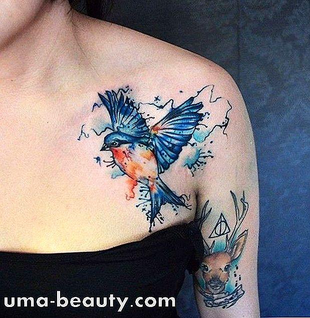 Aquarell Tattoo 100 Fotos Der Besten Tatowierer Dieses Stils In