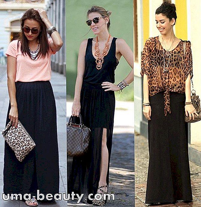 d350acc9a Cómo usar falda larga negra en looks estilo y descomplicado - es.uma ...