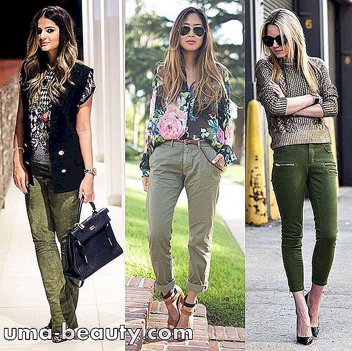 Verde Militar Aprenda A Valorar Sus Looks Con Ese Color Atemporal Es Uma Beauty Com