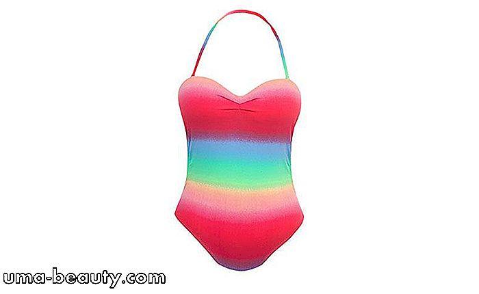 18edd32088b9 Swimsuit  Lær hvordan du bruker den til å rocke i utseende Beachy ...